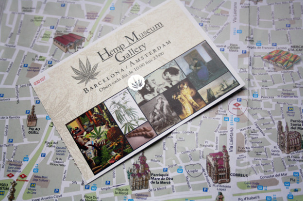hemp-museum, barcelona, trolley-tourist.de