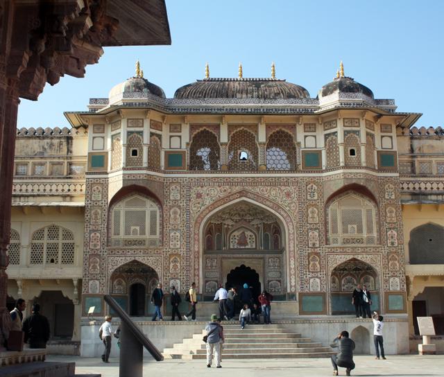 jaipur-ganesh-tor, amber palace, trolley-tourist.de