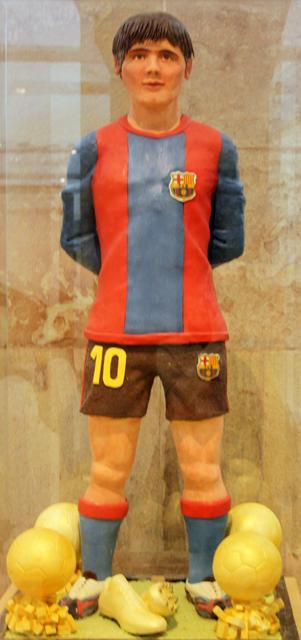 messi, schokoladen-museum barcelona, trolley-tourist.de