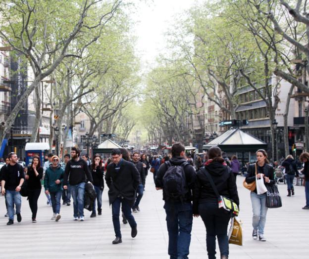 rambla barcelona, trolley-tourist.de