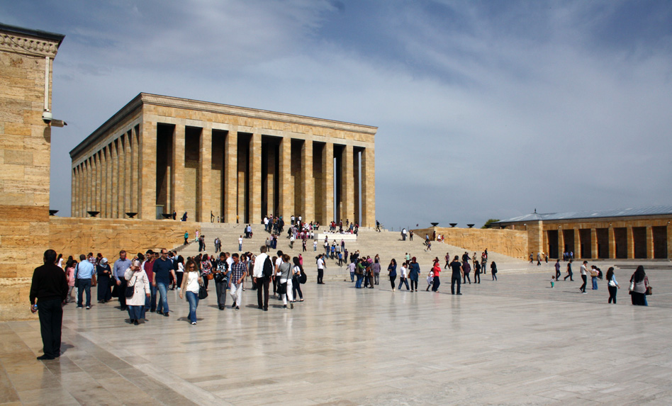Atatürk-Mausoleum, Trolley-Tourist