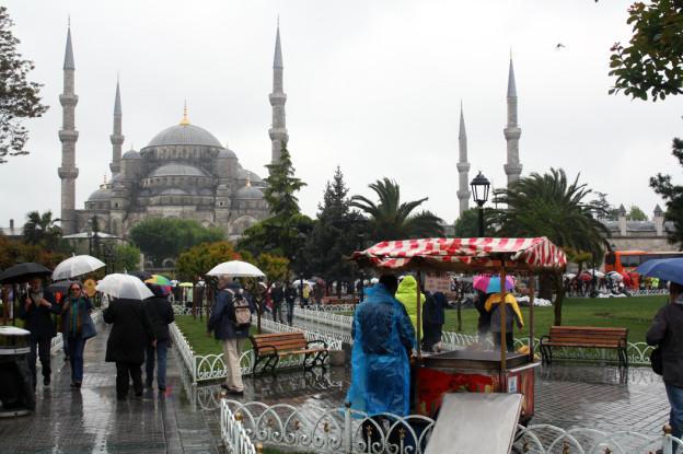 istanbul-blaue-moschee, Trolley-Tourist.de
