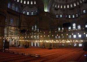 istanbul-blaue-moschee-leuchter, Trolley-Tourist.de