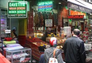istanbul-gewuerzmarkt, istanbul-gewuerzbasar, Trolley-Tourist.de