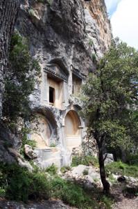 termessos-haus, Termessos bei Antalya, Trolley-Tourist