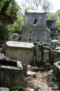 termessos-sarkophag, Termessos bei Antalya, Trolley-Tourist.de