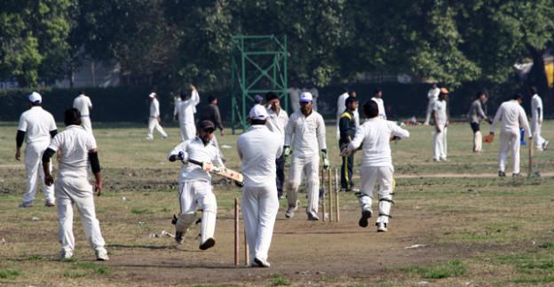 dehli, cricket, india gate,www.trolley-tourist.de