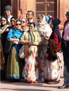 fatehpur-sikri-reisegruppe, www.trolley-tourist.de
