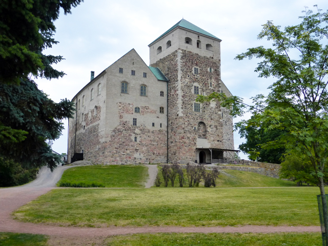 Burg Turku in Finnland