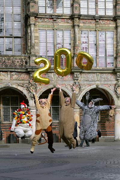 Bremen feiert die Stadtmusikanten