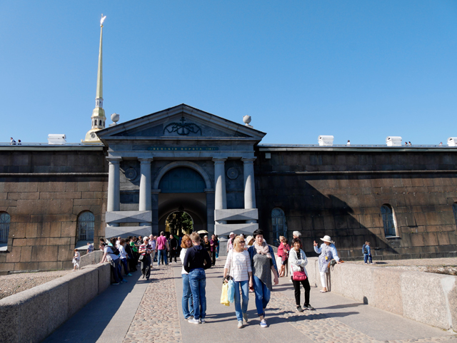 Neva-Tor, Festung Sankt Petersburg