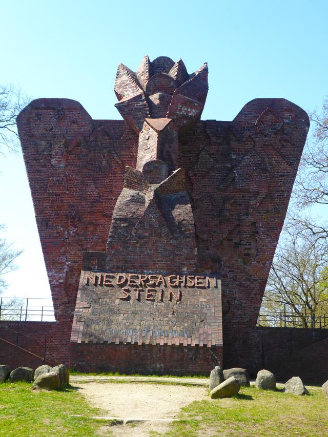 Der Niedersachsenstein in Worpswede
