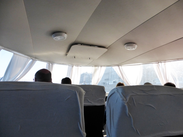 Eine rasante Fahrt im Tragflügelboot