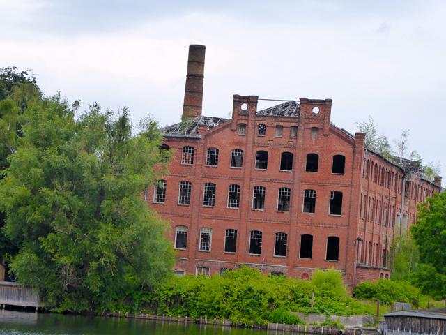 alte Tuchfabrik in Malchow