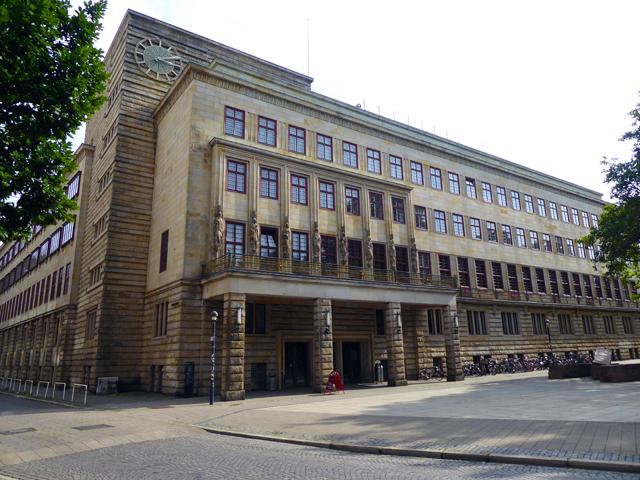 Das Haus des Reichs in Bremen