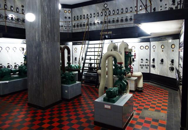 Das Haus des Reichs in Bremen - Maschinenzentrale