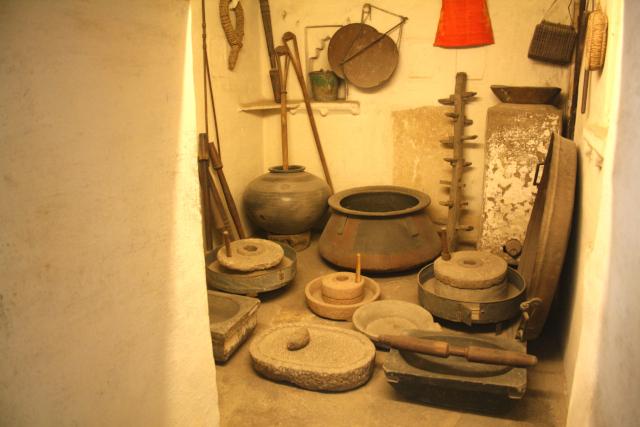 Palastküche in Udaipur in Rajastan, Nordindien
