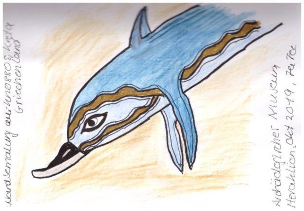 Kreta-Heraklion-Museum-Delphin-kompr